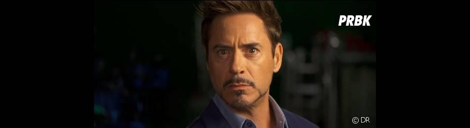 Robert Downey Jr plaisante avec le trailer d'Iron Man