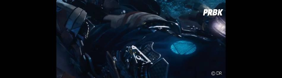 La nouvelle armure d'Iron Man en action