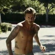 David Beckham : Très hot et au bout de l'effort pour la dernière campagne H&M !