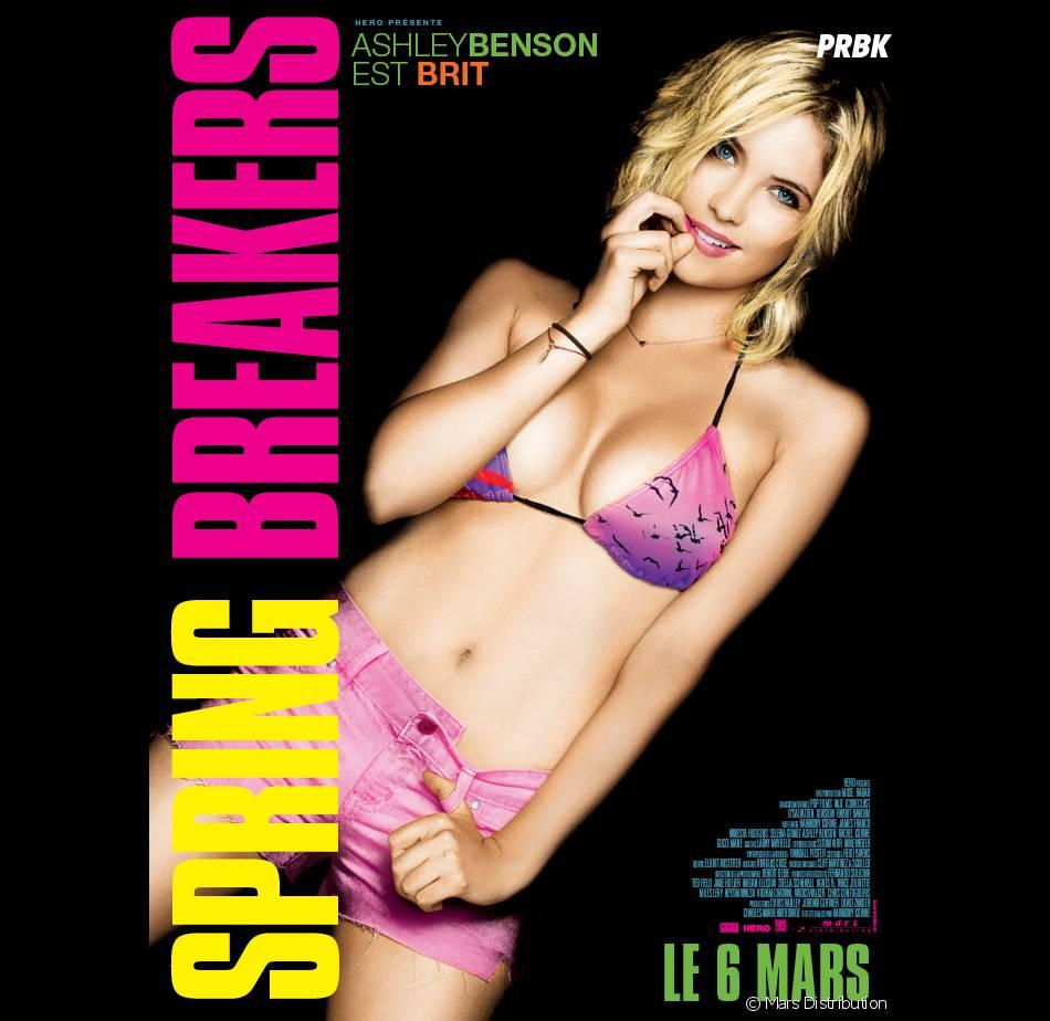 Ashley Benson, une vraie bombe pour la promo de Spring Breakers
