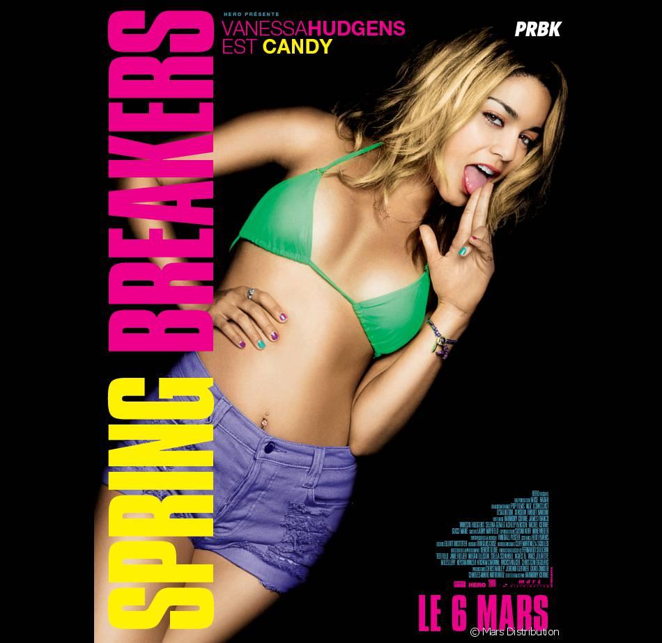 Vanessa Hudgens, hot et trash dans Spring Breakers