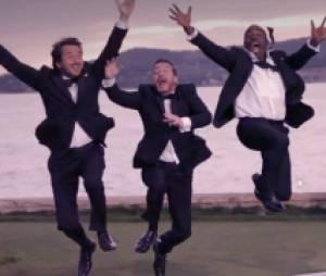 Les acteurs de Turf semblent heureux de la chanson