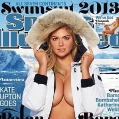 Kate Upton : à deux tétons du drame pour Sports Illustrated