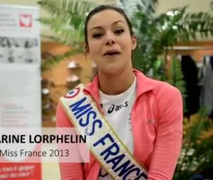 Marine Lorphelin, Sylvie Tellier, Laeticia Bleger et Laury Thilleman courront le Marathon de Paris pour la bonne cause.