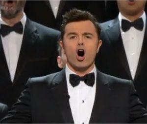 Seth MacFarlane et la Boobs song aux Oscars 2013
