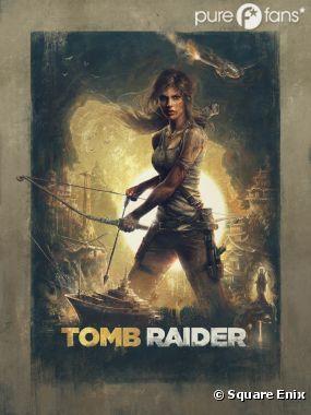 Tomb Raider, l'affiche du jeu