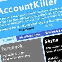 Account killer : le site pour fuir Facebook, Twitter & co