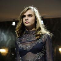 Cara Delevingne sexy et transparente pour H&M