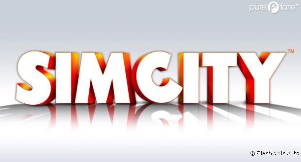 Le logo de SimCity sur PC