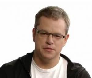Matt Damon allie bonne cause et humour