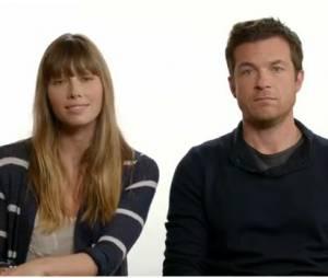 Jessica Biel et Jason Bateman plein d'humour pour soutenir Matt Damon