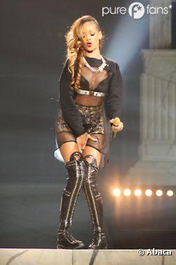 Rihanna a fait un retour sur scène remarqué