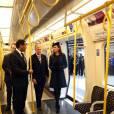 Un métro vide pour accueillir Kate Middleton