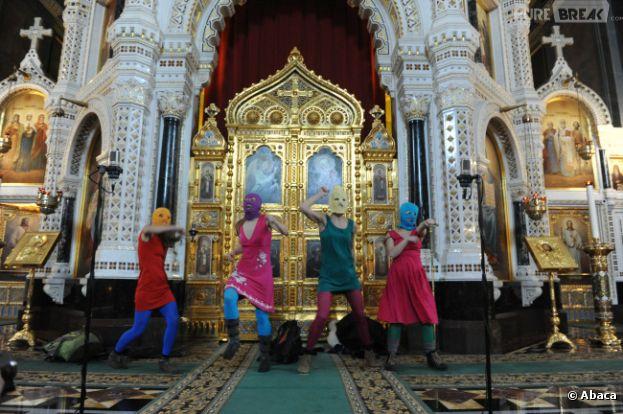 Les Pussy Riot avaient chanté une prière anti-Poutine dans une cathédrale moscovite