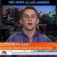 """Kate Upton à un lycéen : """"Je serais ravie d'aller au bal de promo avec toi"""""""