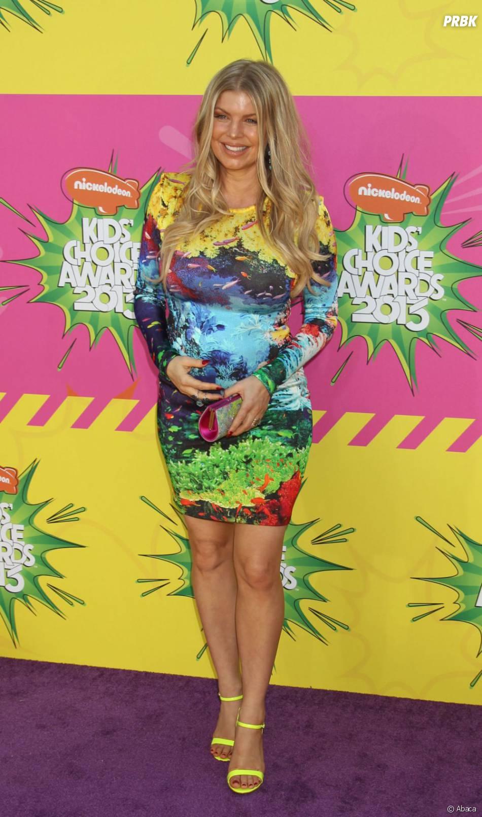 Fergie enceinte aux KCA 2013
