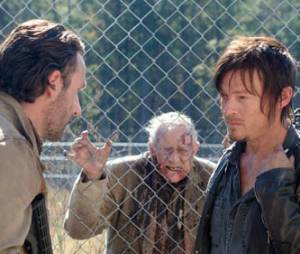 Rick et Daryl dans The Walking Dead