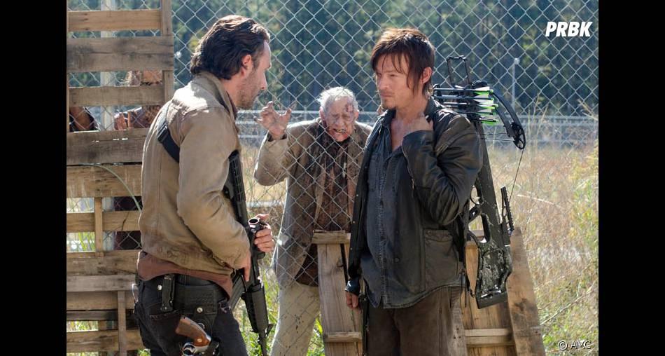 Rick et Daryl dans The Walking Dead