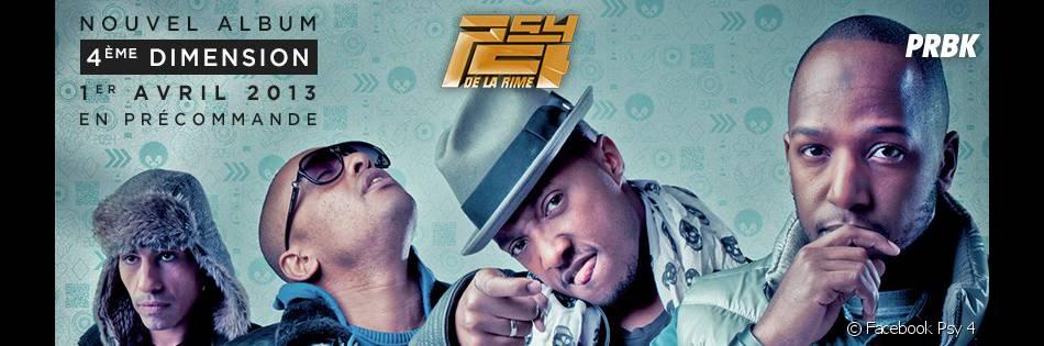 L'album 4e Dimension est le 4e opus des Psy 4 de la Rime