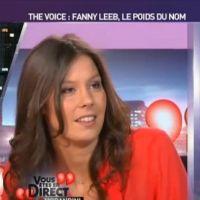 """Fanny Leeb (The Voice 2) : les tensions avec Jenifer ? """"C'est des ragots"""""""