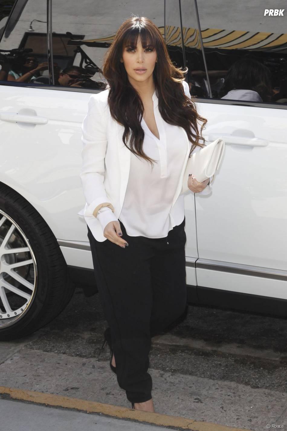 Kim Kardashian n'a pas fini de gonfler