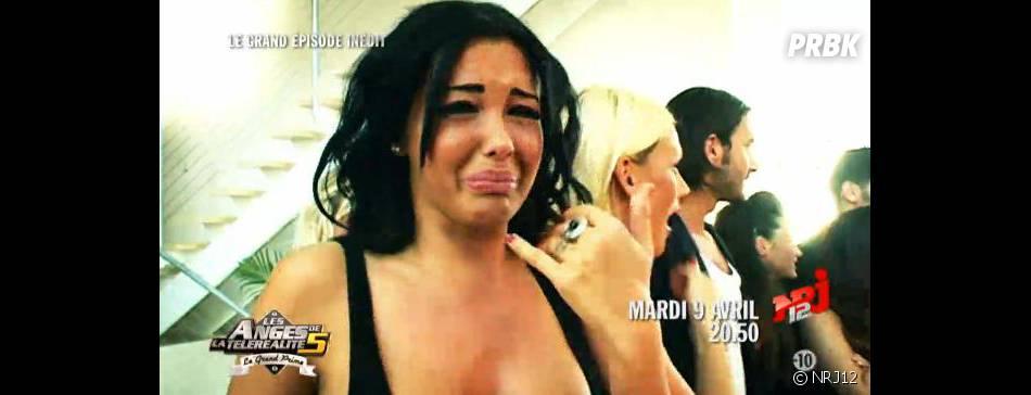 Nabilla va fondre en larmes en voyant Kim Kardashian dans Les Anges de la télé-réalité 5.