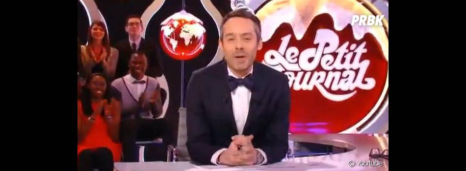 Yann Barthès présente chaque jour le Petit Journal sur Canal +.