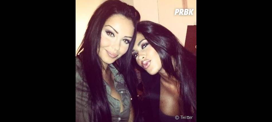 Nabilla et Ayem sont très proches depuis leur participation à Hollywood Girls.