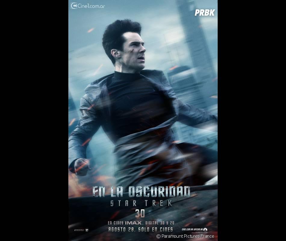 Encore un poster pour Benedict Cumberbatch dans Star Trek Into Darkness