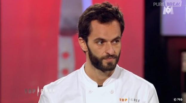 Triste élimination de Yoni Saada en demi-finale de Top Chef 2013.