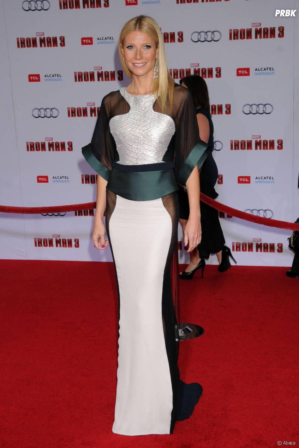 Gwyneth Paltrow, sublime à l'avant-première d'Iron Man 3 à Los Angeles le 24 avril 2013