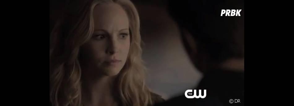 Caroline prête à aider Elena dans The Vampire Diaries