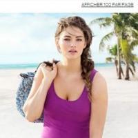 H&M : Jennie Runk, mannequin taille 42 pour la collection d'été