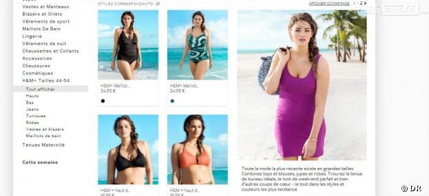 Jennie Runk, mannequin taille 42 et égérie d'été de H&M
