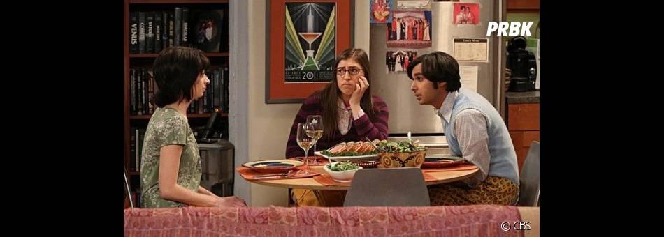 Repas (presque) romantique dans The Big Bang Theory