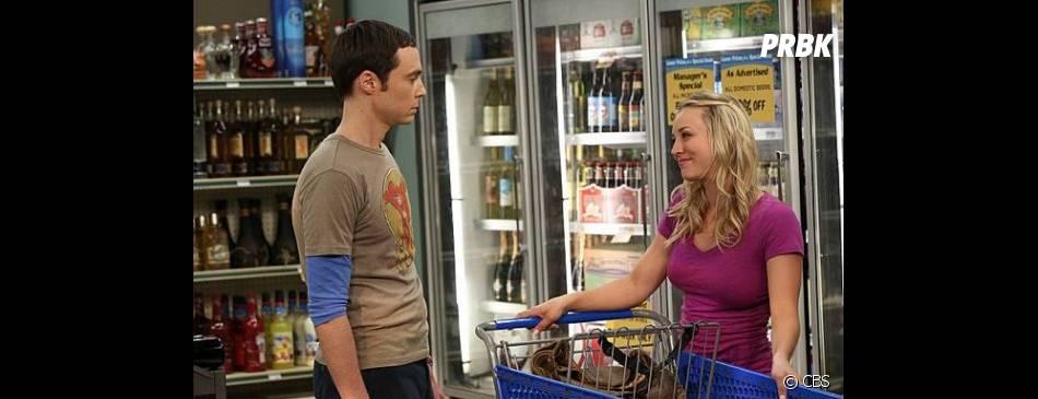 Sheldon jaloux dans Leonard dans The Big Bang Theory