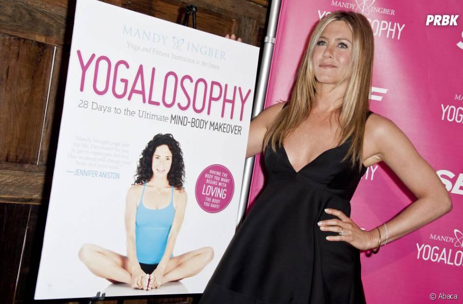 Le yoga, le secret de Jennifer Aniston pour garder la ligne
