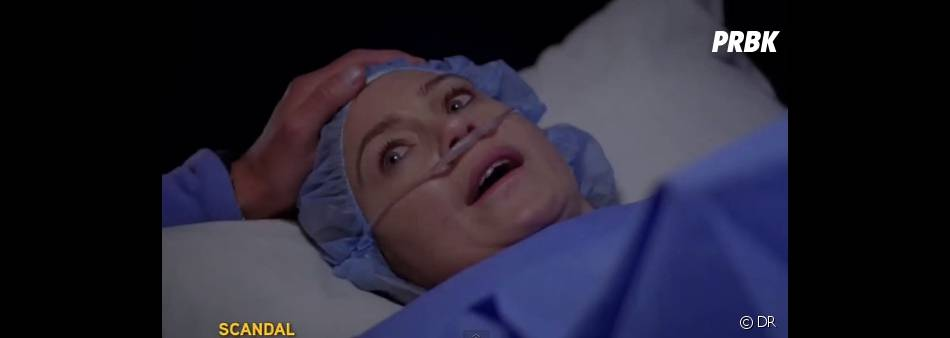 Meredith va avoir peur pour son bébé dans Grey's Anatomy