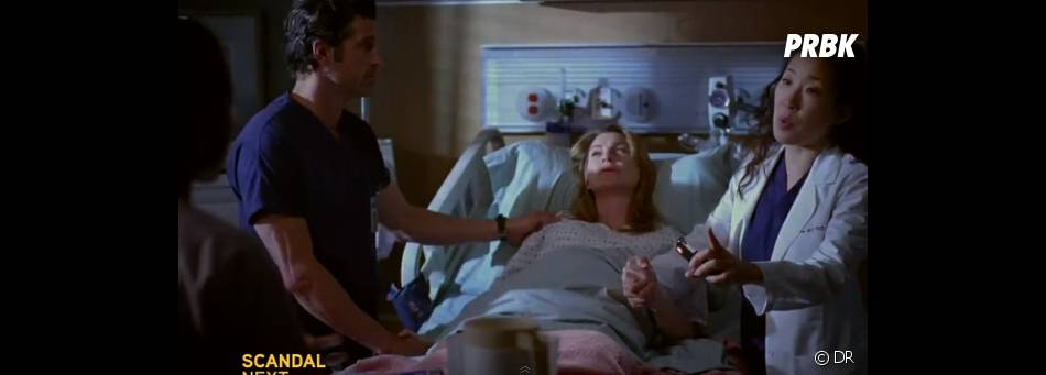 Un accouchement très spécial dans Grey's Anatomy