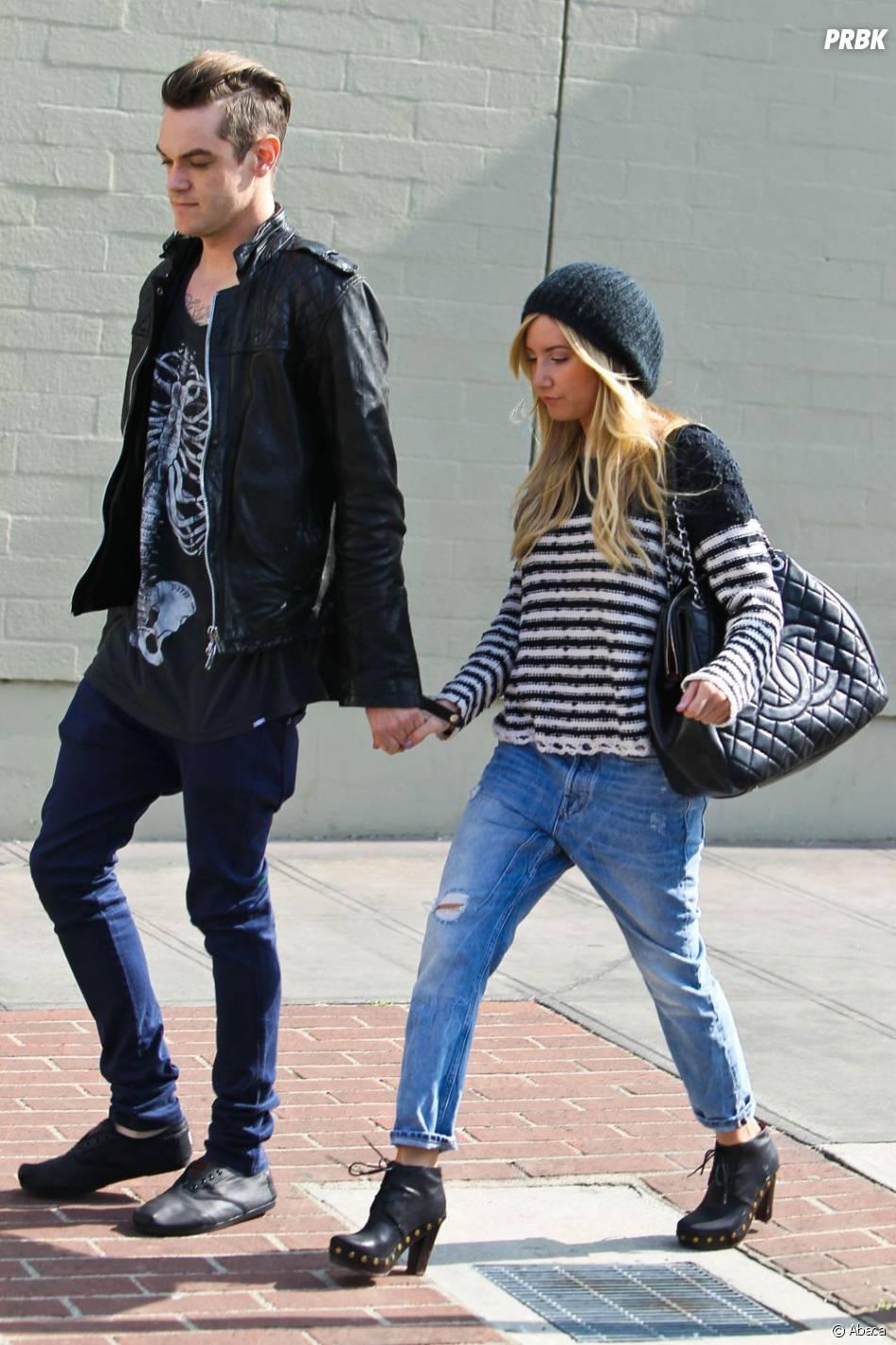 Ashley Tisdale peut compter sur le soutien de son boyfriend