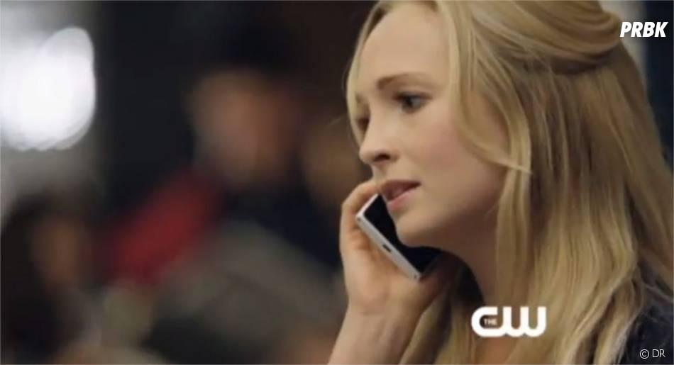 Caroline ne se laisse pas abattre dans Vampire Diaries
