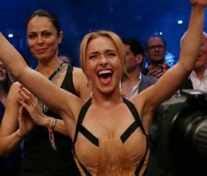Hayden Panettiere coule des jours heureux avec son boxeur