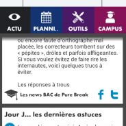 Campus Bac : PureBreak s'invite sur l'application iPhone et Android !