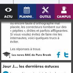 Campus Bac : PureBreak s'invite sur l'application iPhone et Android !