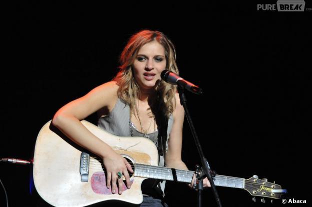 Amandine Bourgeois a eu un problème de voix avant l'Eurovision 2013