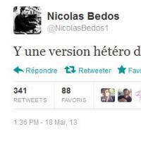 Nicolas Bedos : polémique après un tweet sur The Voice 2 jugé homophobe