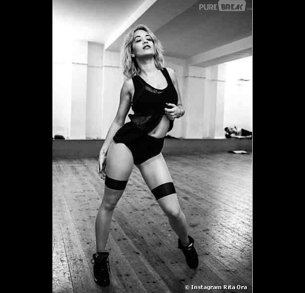 Rita Ora enflamme Instagram en sous-vêtements