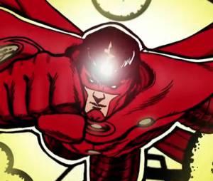 Le garçon devient un super-héros au moment de sauver la fille qu'il aime
