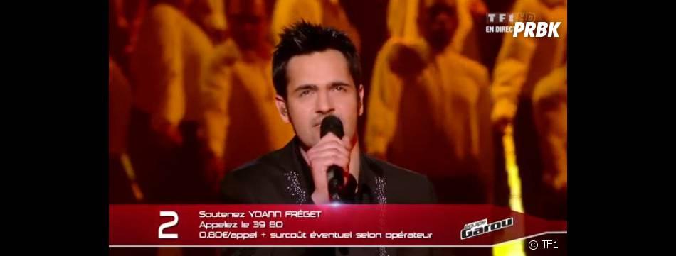 Yoann Fréget est le grand gagnant de The Voice 2 sur TF1.