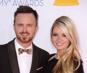 Aaron Paul et Lauren Paul